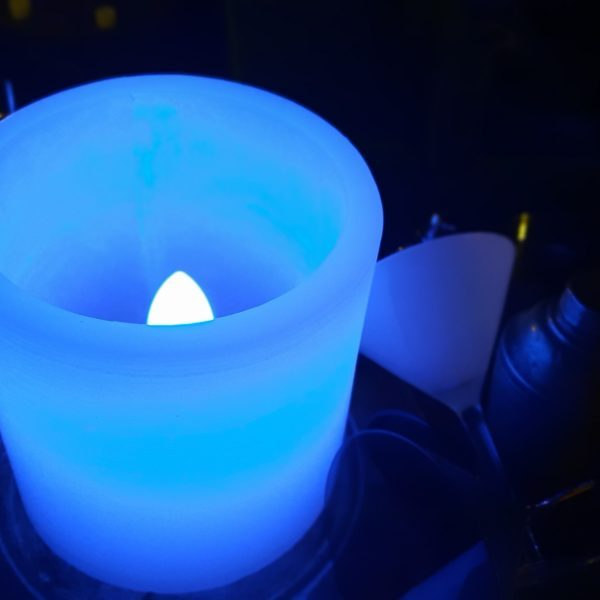 Lámpara de Cera Redonda