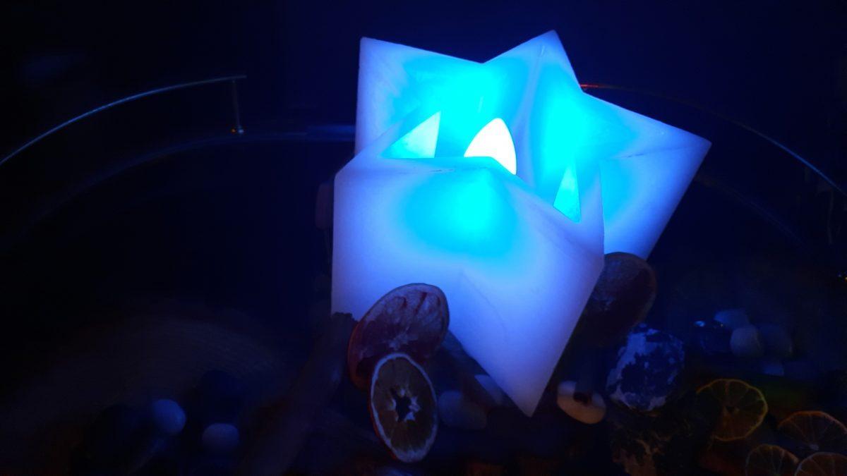 Lámpara de Cera Estrella