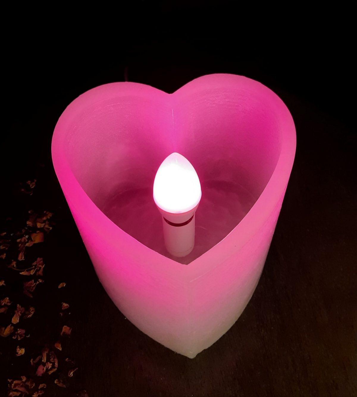 NaturalDreams8 • Lámpara de Cera Corazón