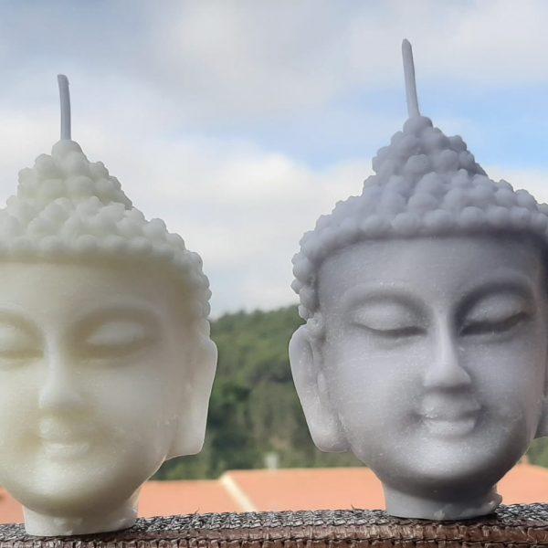 Vela Cabeza Buda