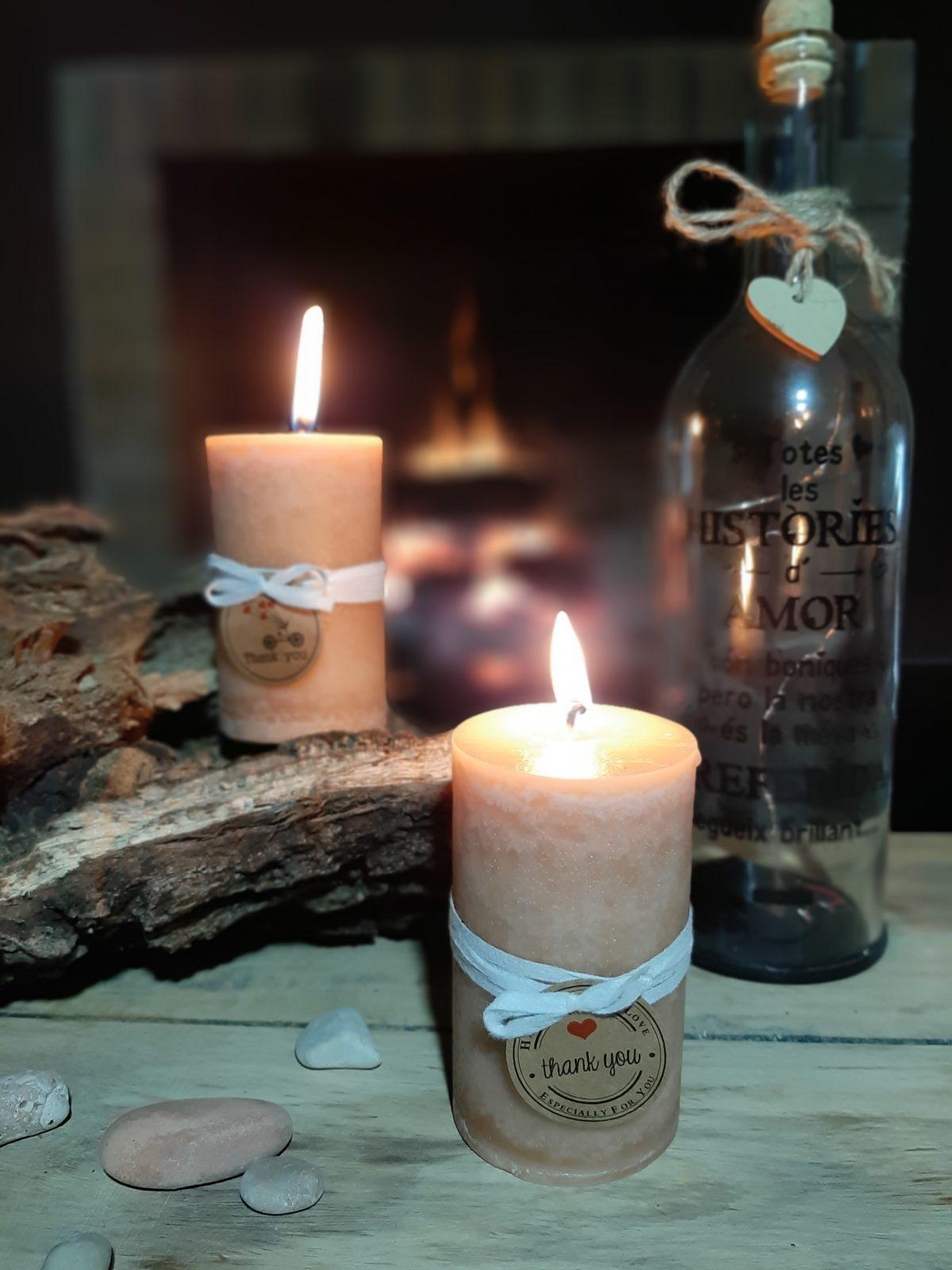 NaturalDreams8 • Vela con Aroma Canela