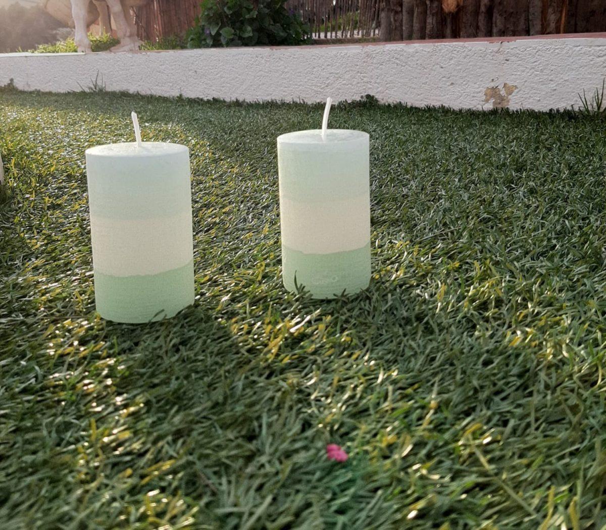NaturalDreams8 • Vela con Aroma Hierbabuena Premium
