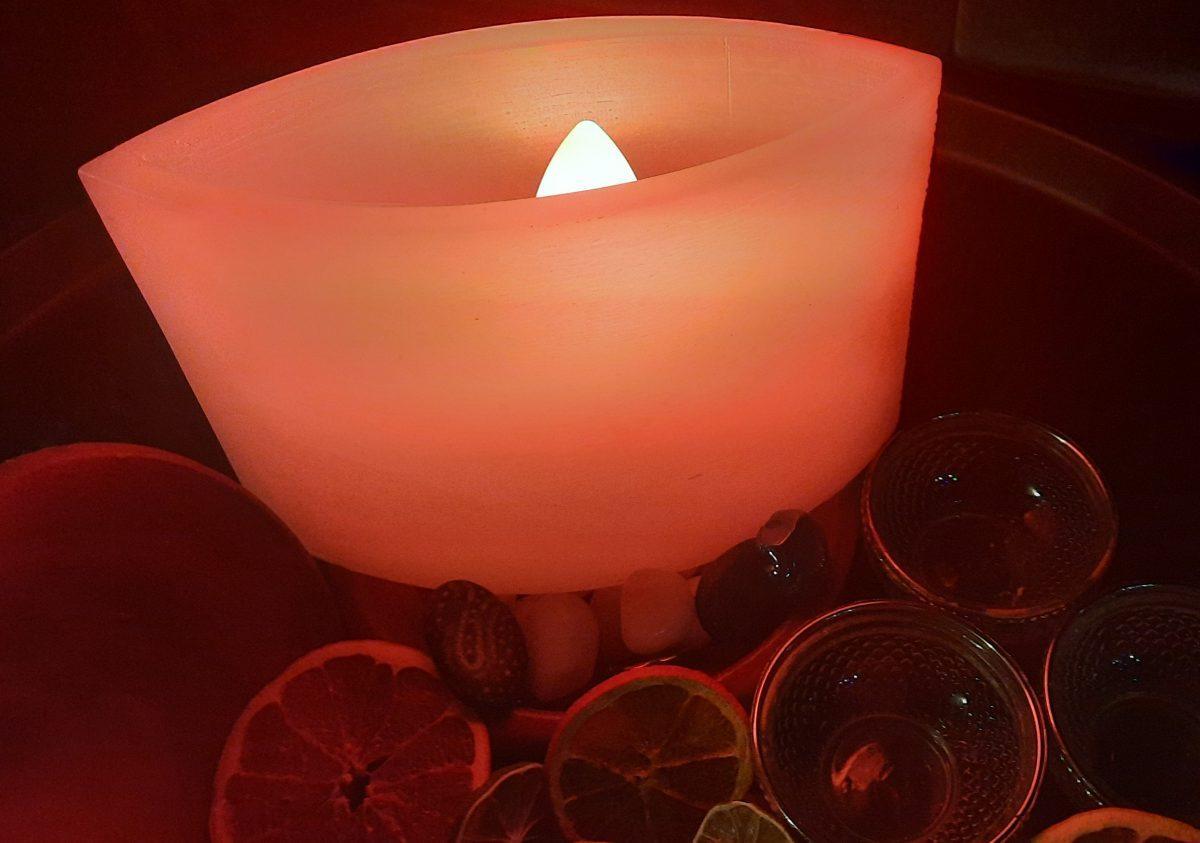 NaturalDreams8 • Lámpara de Cera Ojiva