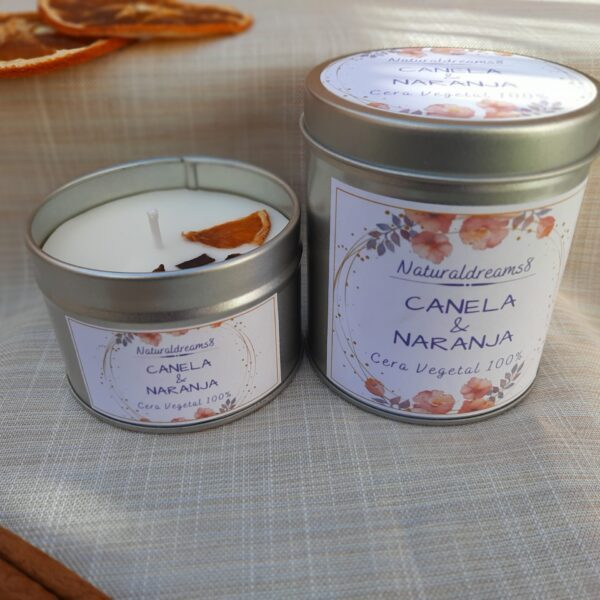 Cera Vegetal Canela & Naranja