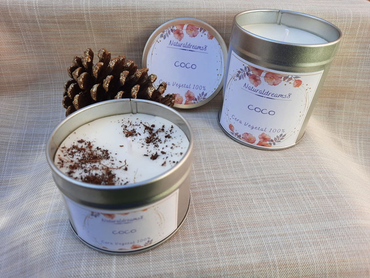 NaturalDreams8 • Cera Vegetal Coco