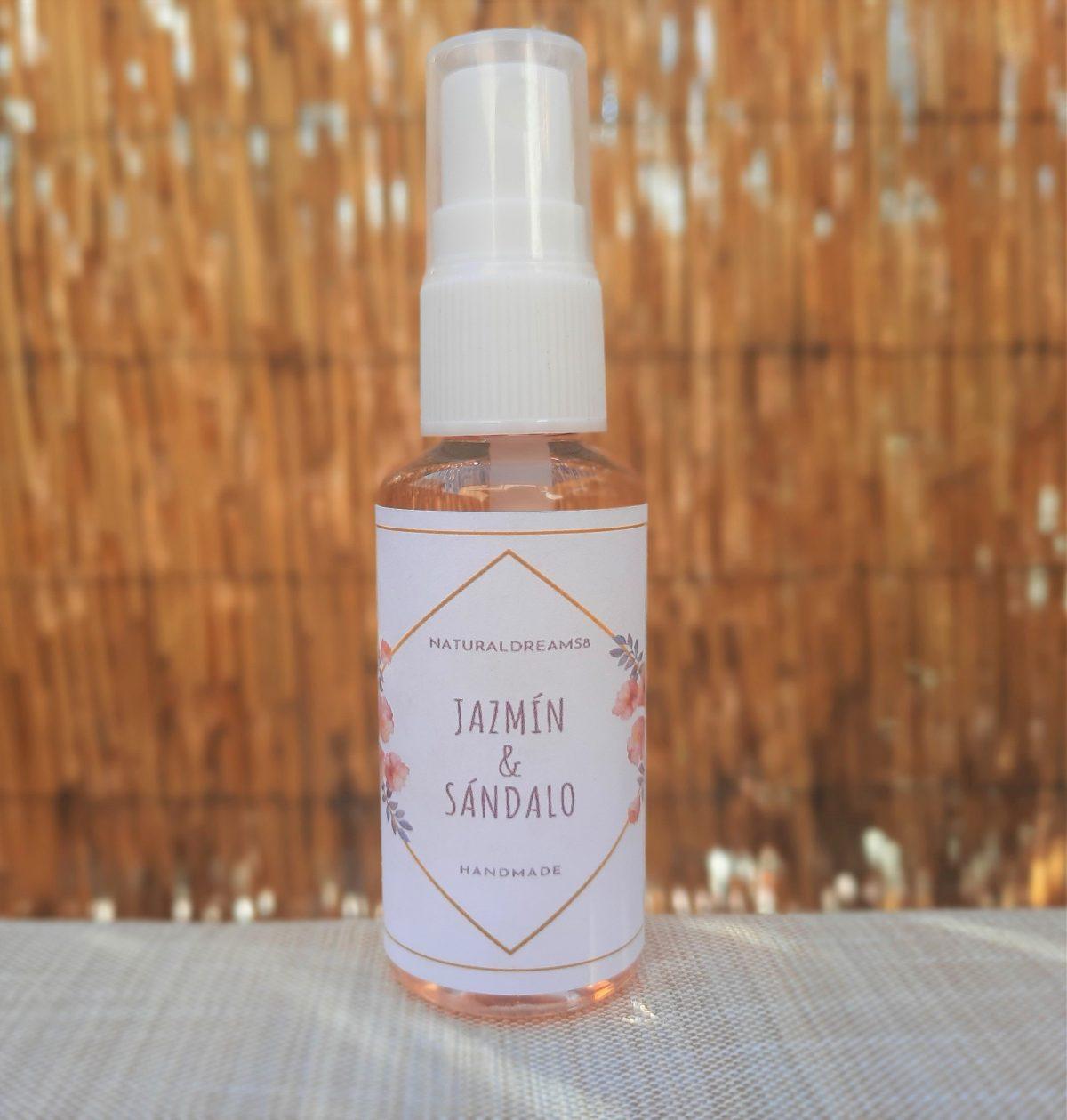 Spray Aromático Jazmín & Sándalo