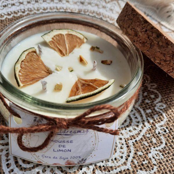 Cera de Soja Mousse de Limón