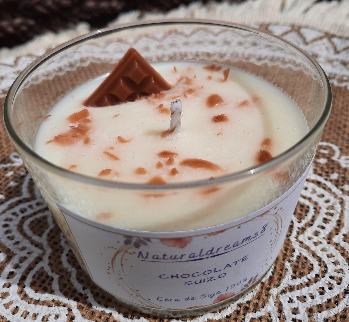 Cera de Soja Chocolate Suizo